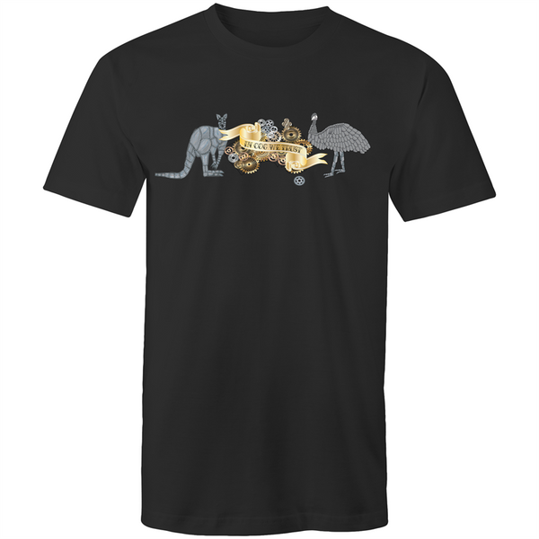 Mens T-Shirt - Australian Coat of Armoured