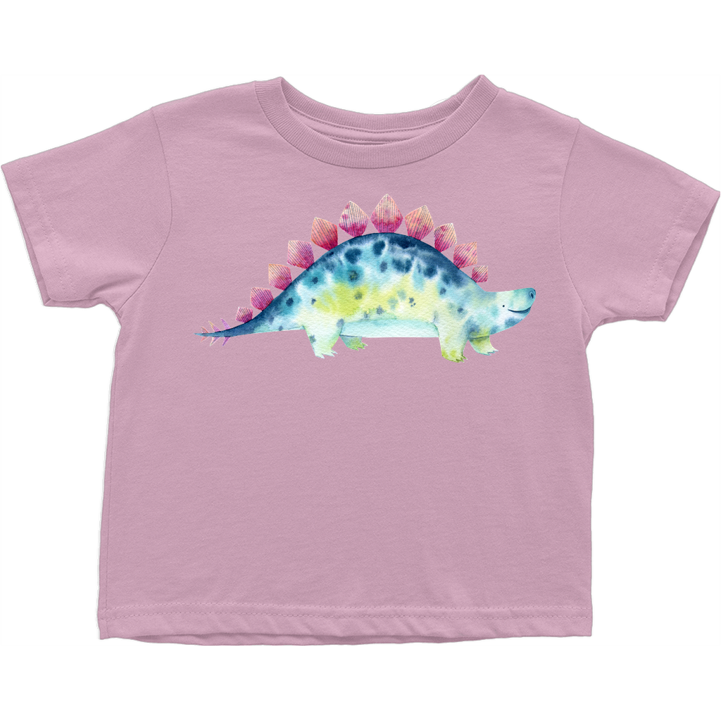 Adorable Dinosaur Toddler T-Shirts (Toddler Sizes) - Stegosaurus