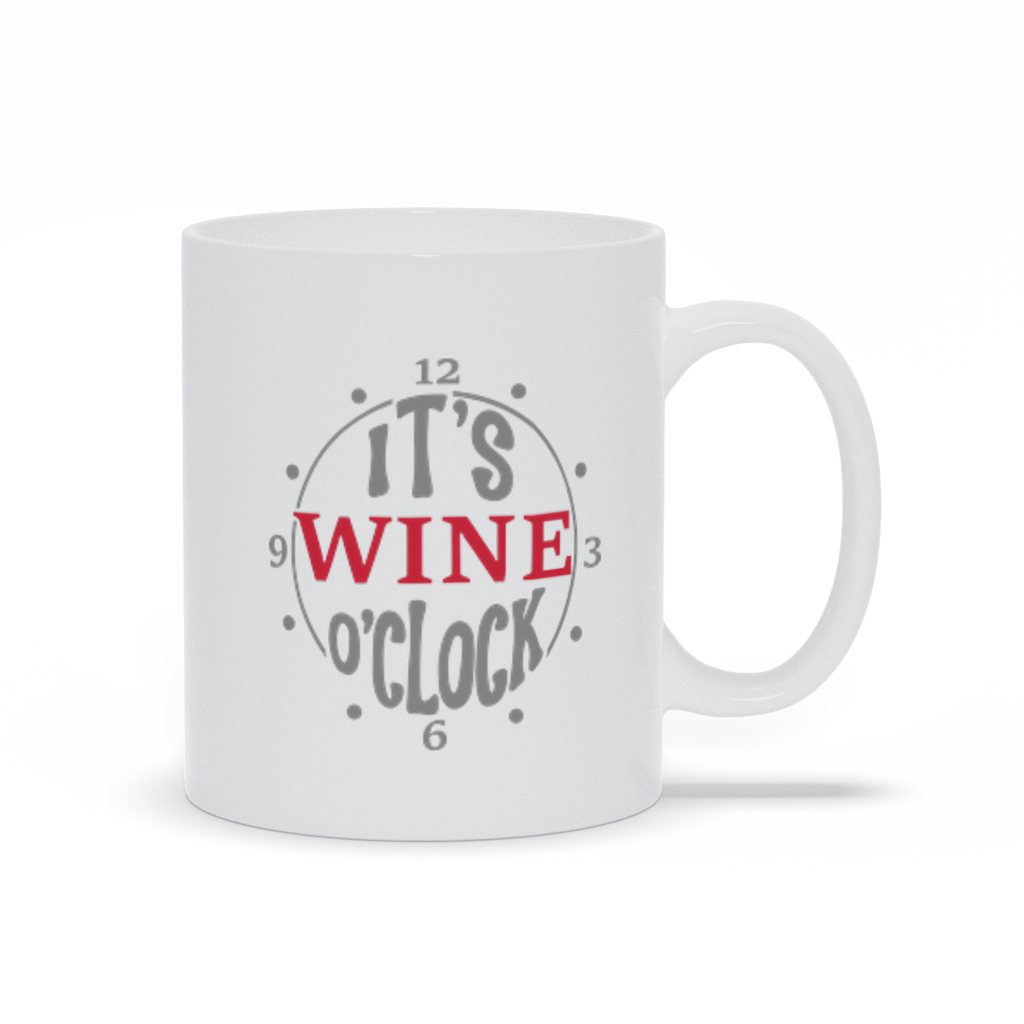 Gifts for mom - Mothers Day - Birthday gifts -  Mug sayings - Gifts - It's wine o'clock - Inspirational - Snarky Memes