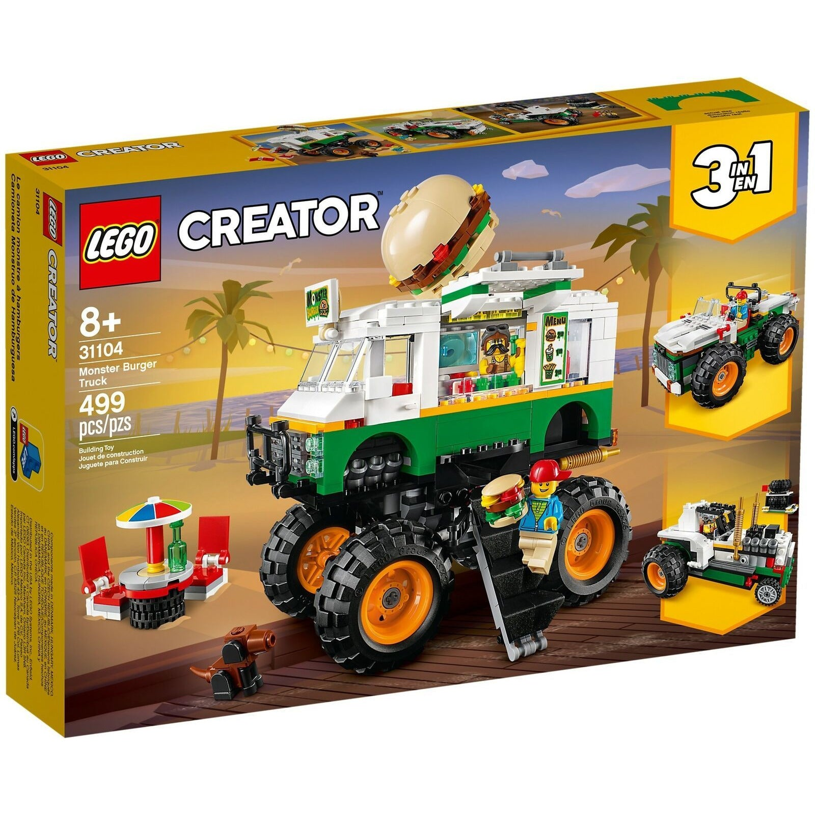 LEGO 31104 Monster Burger Truck CREATOR