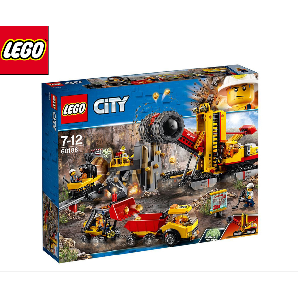 LEGO City Mining Experts Site Building Set 60188