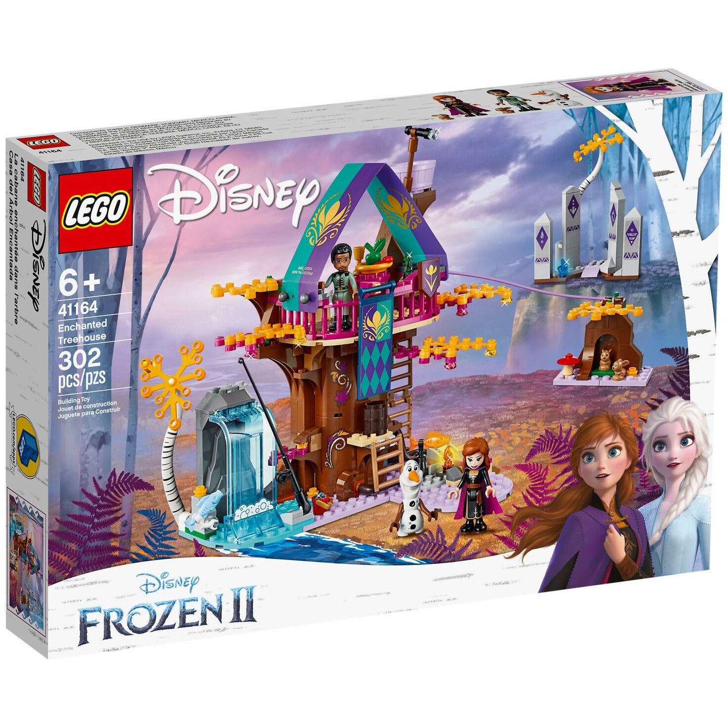 LEGO Disney Frozen Enchanted Treehouse 41164