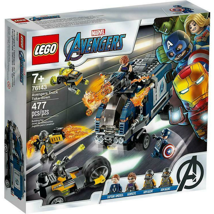 LEGO Marvel Super Heroes Avengers Movie 4 Truck Take-down 76143