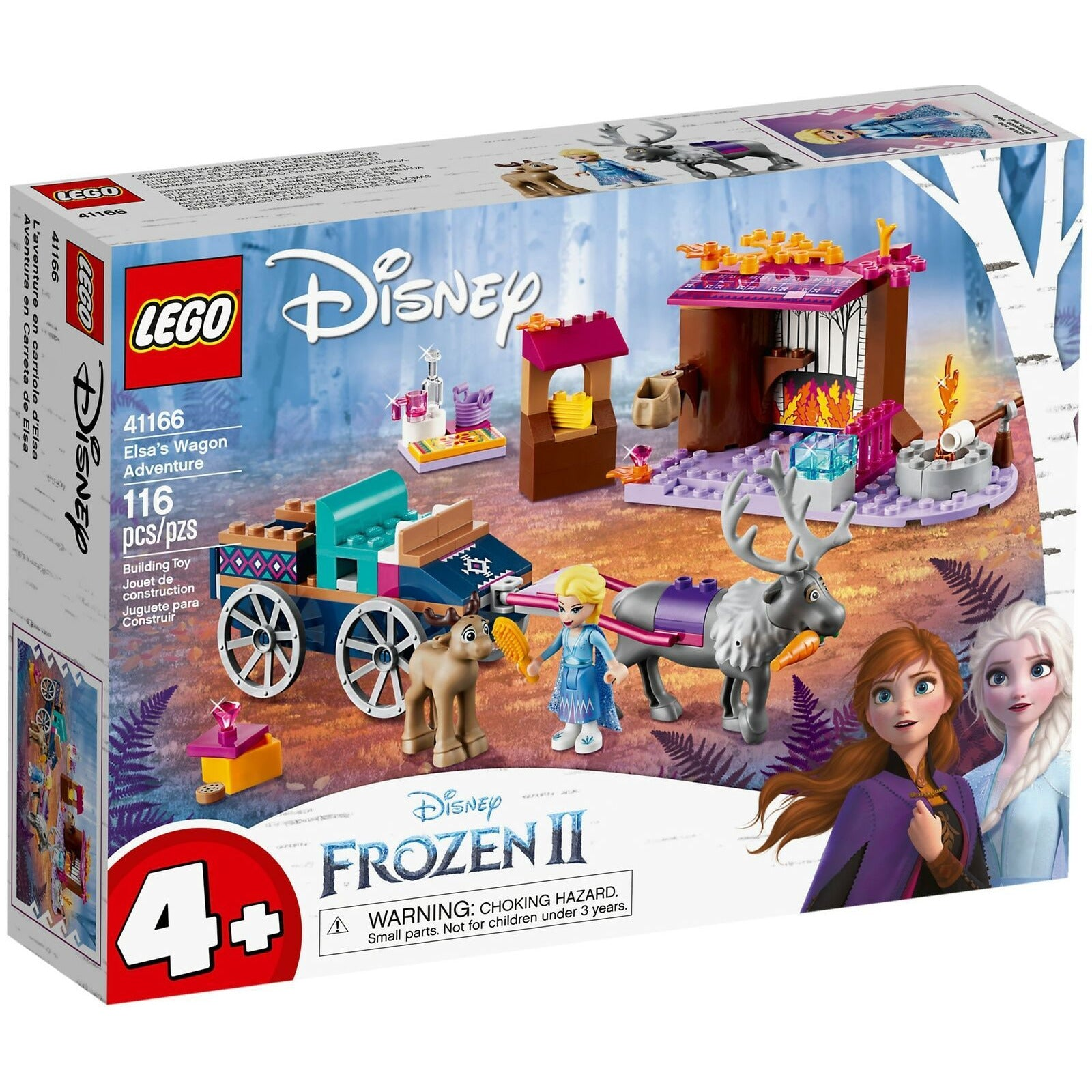 Lego Disney Frozen Elsa's Wagon Adventure 41166