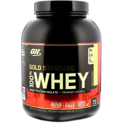 Optimum Nutrition Gold Standard 100% Whey 5Lbs