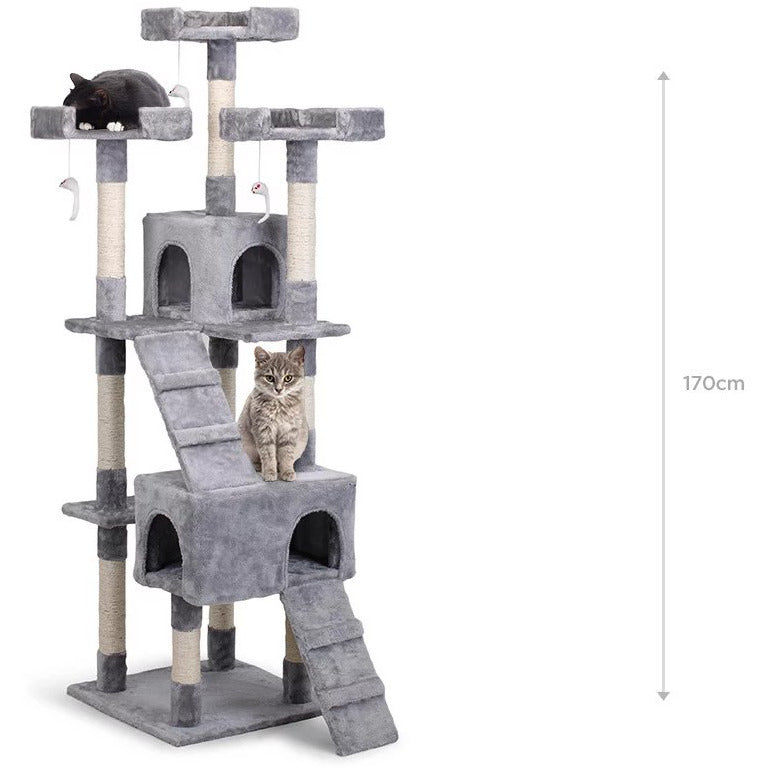 Cat Scratching Post Tree (Large)