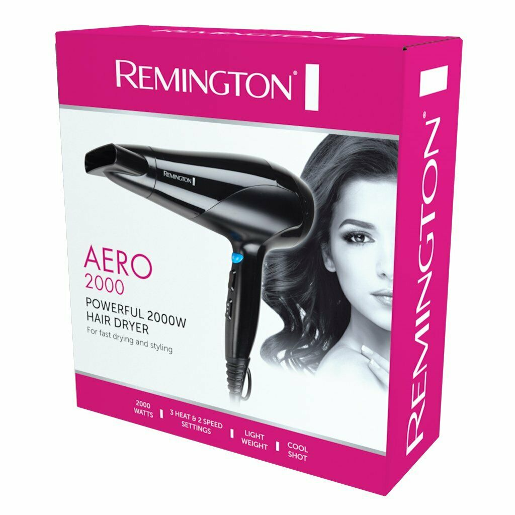 Remington Aero 2000 Hair Dryer - D3190AU