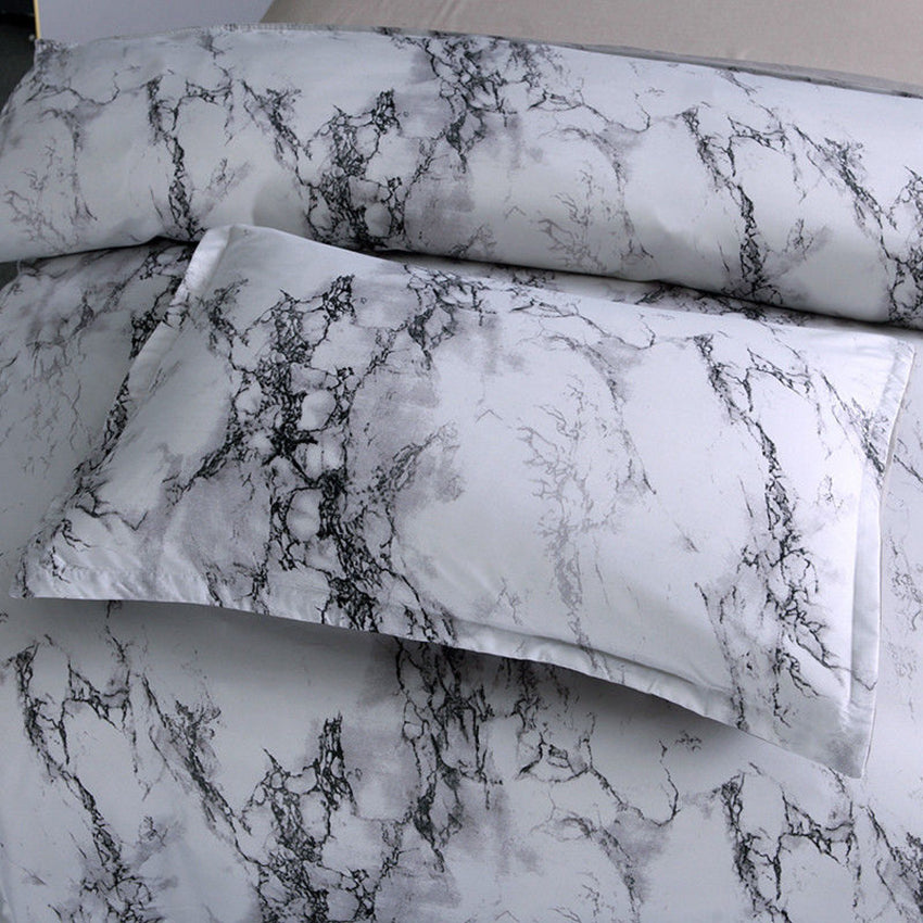 Marble Quilt Cover Set All Size