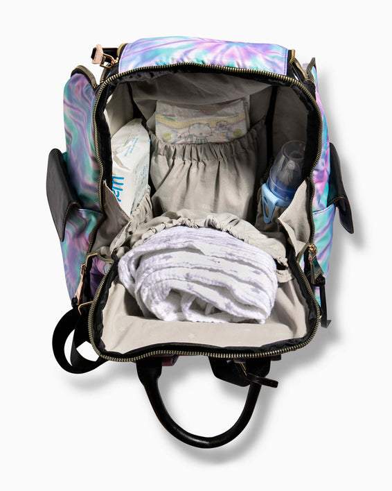 Baby Got Back Baby Bag - spiral tie dye function