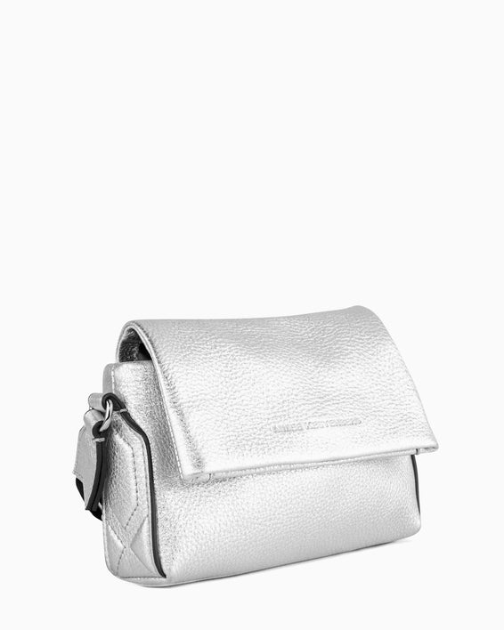 Broadway Crossbody - silver side angle