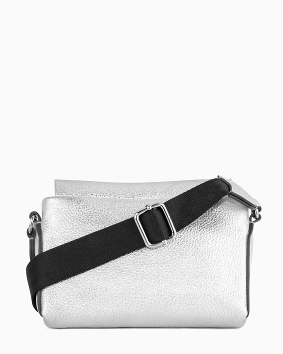 Broadway Crossbody - silver back