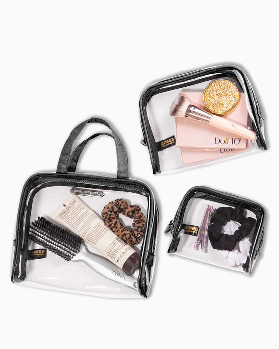Chloe 3-Piece Cosmetics Set - interior functionality