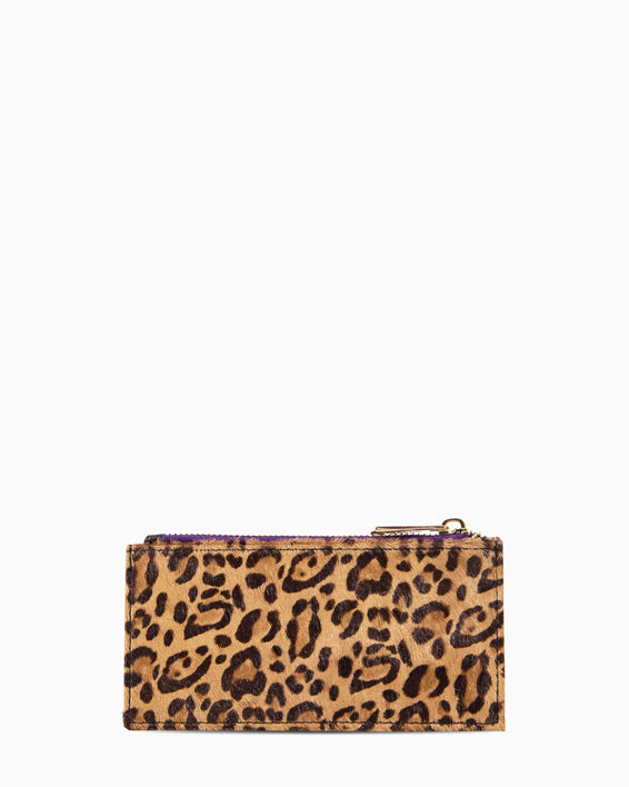 Dusk Till Dawn Slim Zip - Small Leopard Haircalf Front