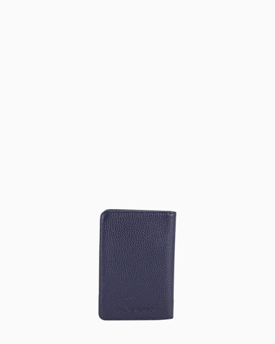 passport cover - navy back