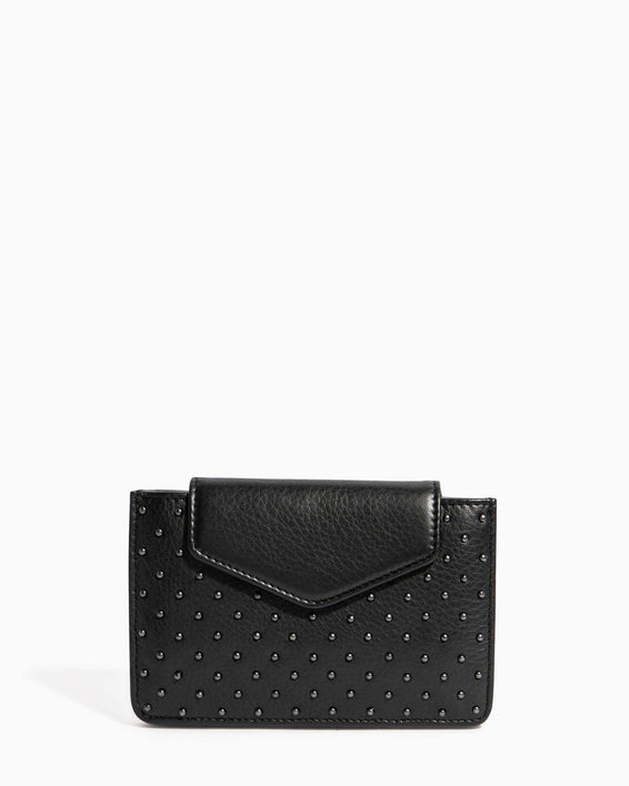 When In Milan Accordion Wallet Black - front
