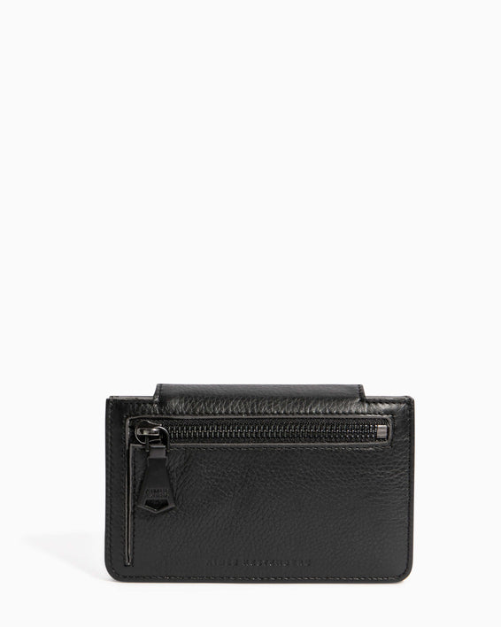 When In Milan Accordion Wallet Black - back