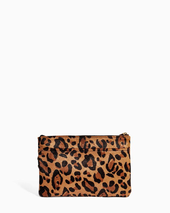 Dancing Queen Pouch Large Leopard Haircalf - back