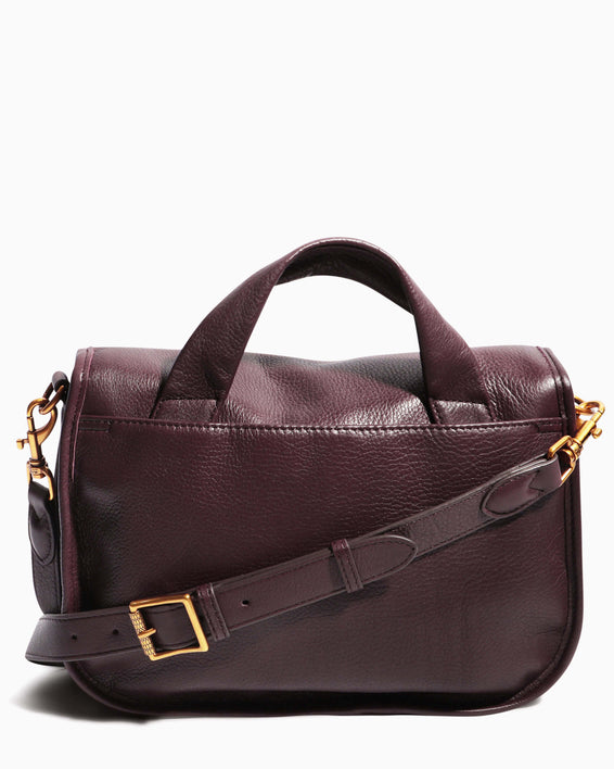 Fierce & Fab Saddle Bag - merlot back
