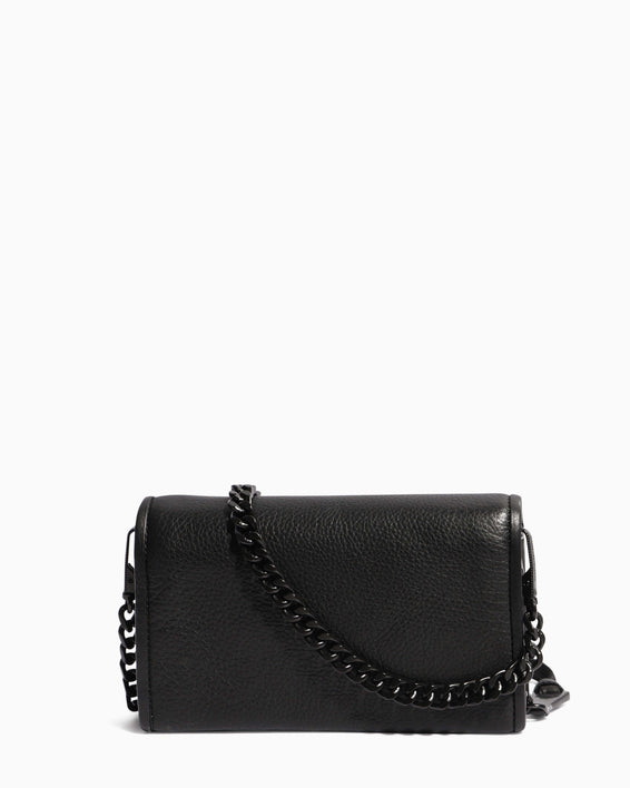 Fierce & Fab Wallet On A Chain - black back