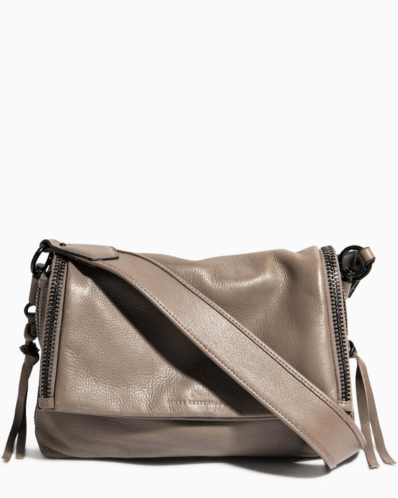 Night Is Young Shoulder Bag - charcoal front