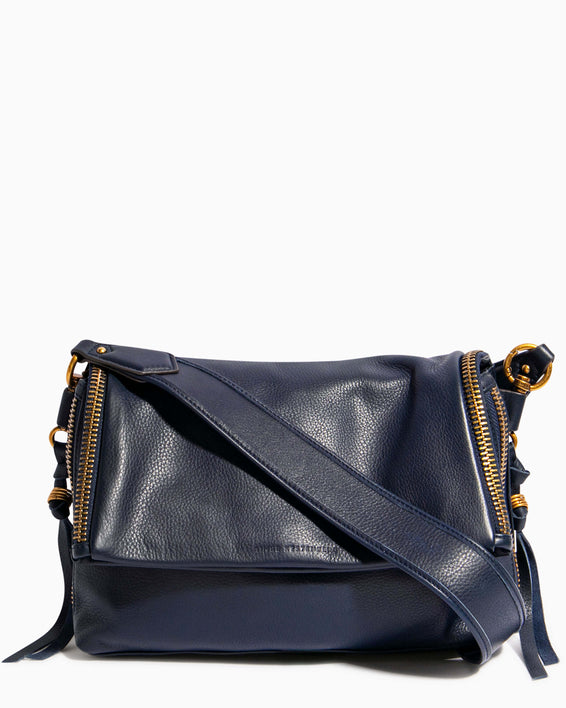 Night Is Young Shoulder Bag - deep indigo front