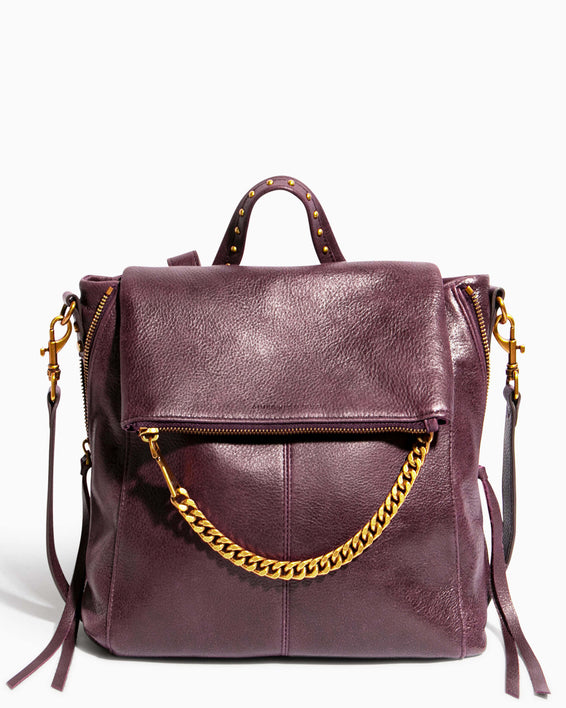 No B.S. Convertible Backpack - merlot front