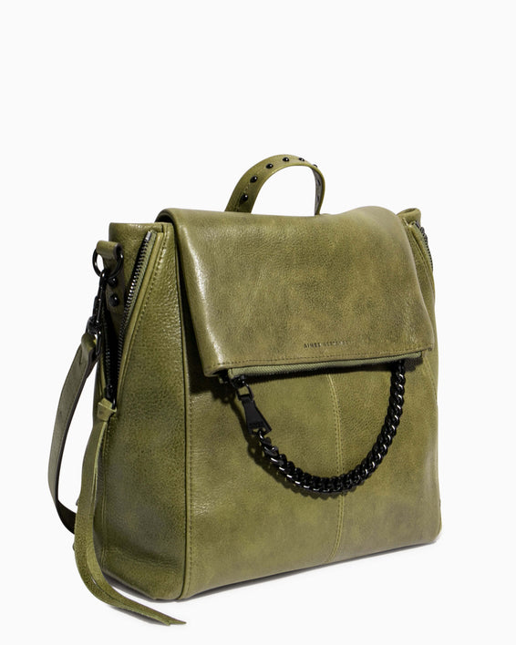No B.S. Convertible Backpack - olive side angle