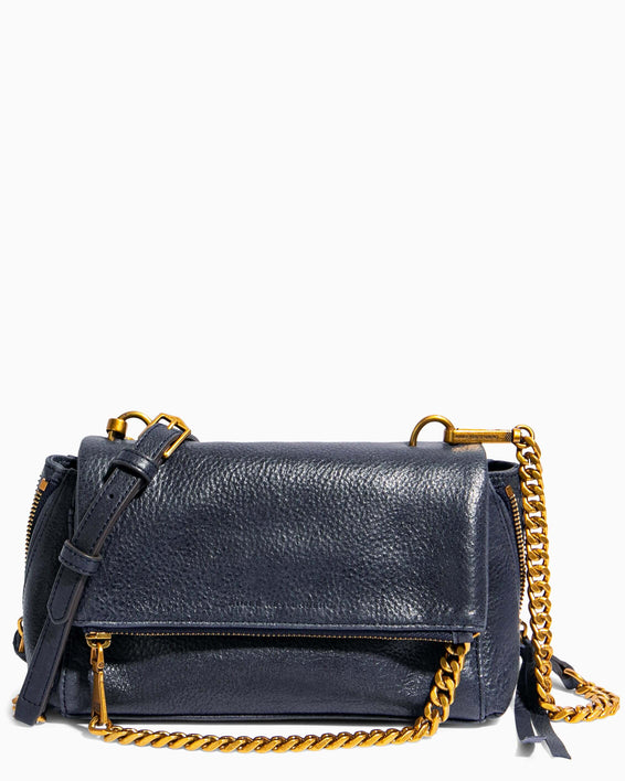 No B.S. Mini Crossbody - deep indigo front