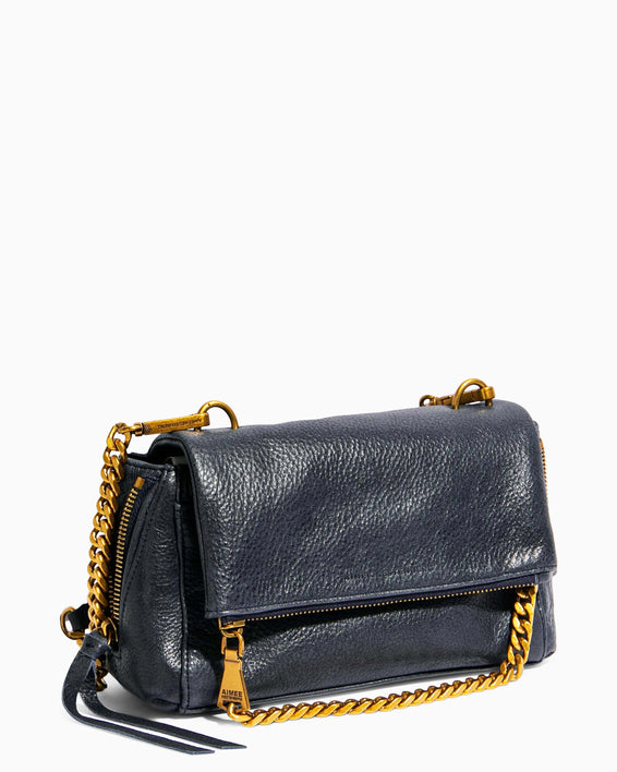 No B.S. Mini Crossbody - deep indigo side angle