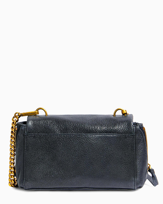 No B.S. Mini Crossbody - deep indigo back