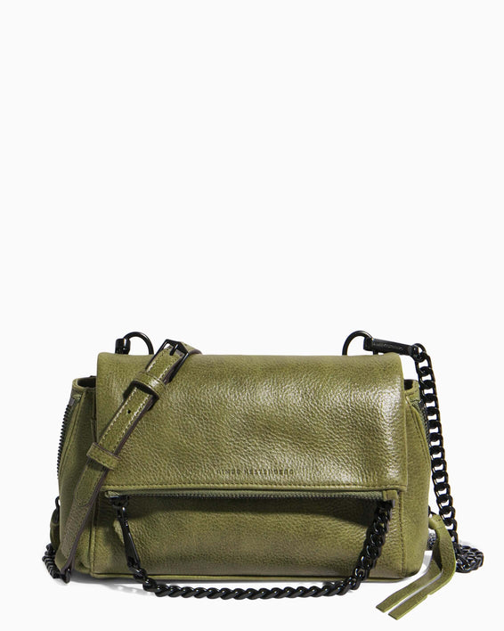 No B.S. Mini Crossbody - olive front