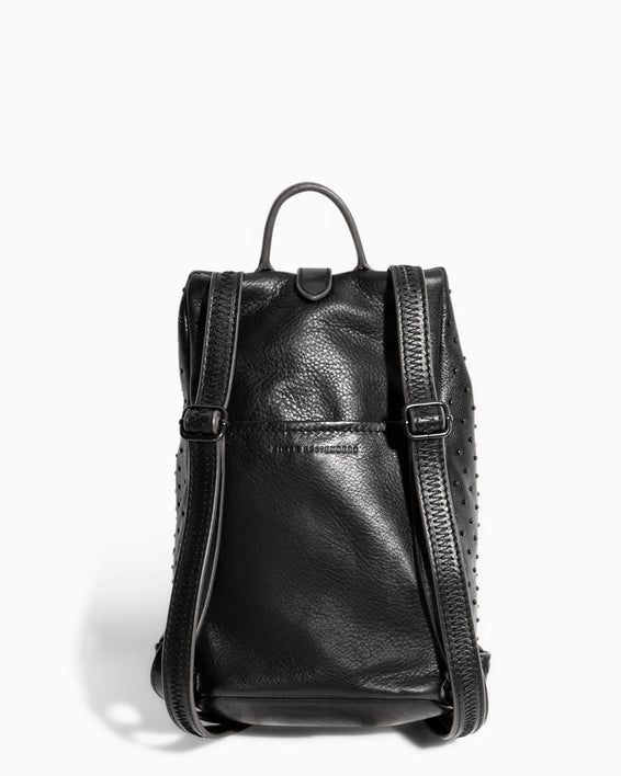Tamitha Mini Backpack Black Black Studded - back