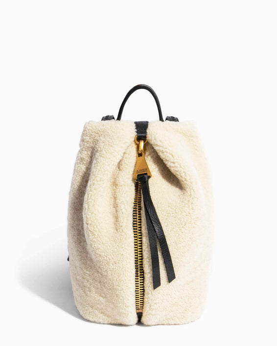 Tamitha Mini Backpack Shearling - front