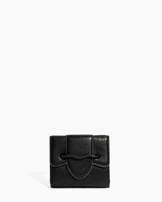 Fierce & Fab Trifold Wallet Black - front
