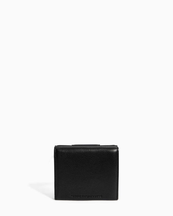 Fierce & Fab Trifold Wallet Black - back