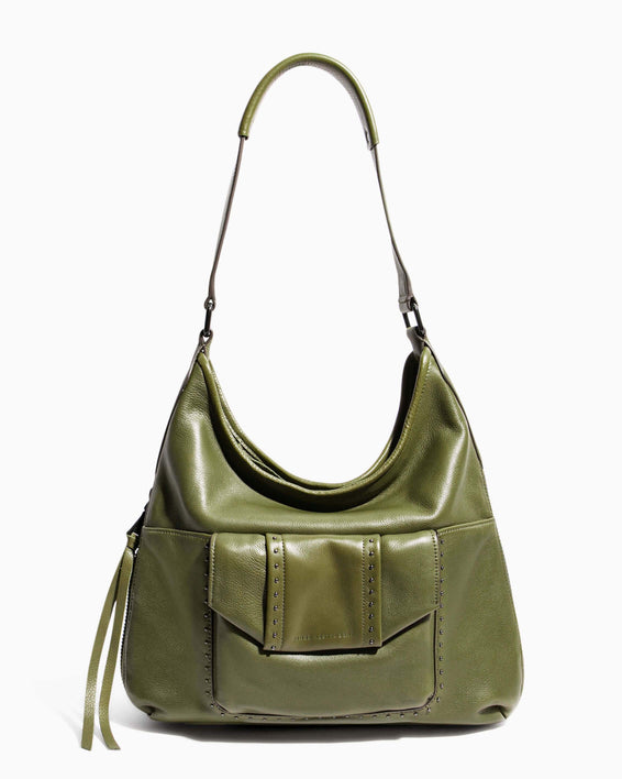 When In Milan Hobo Olive - front
