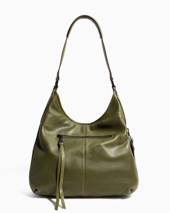 When In Milan Hobo Olive - back