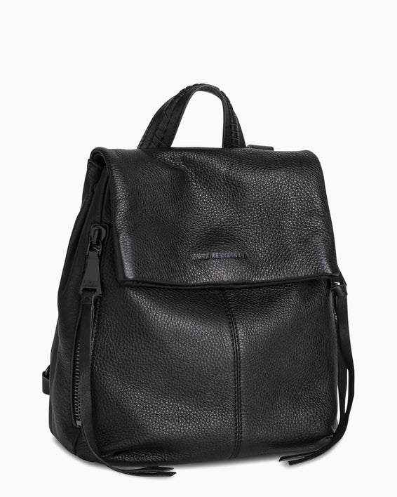 Bali Backpack - Black Side Angle