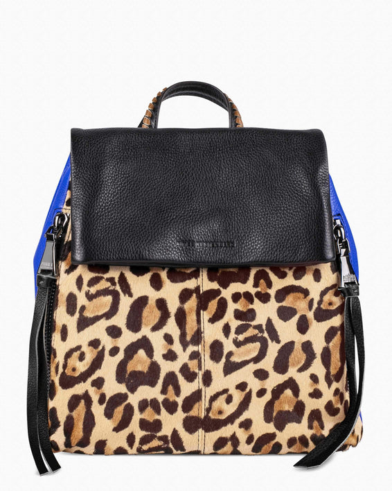Bali Backpack - Jungle Leopard Haircalf Front