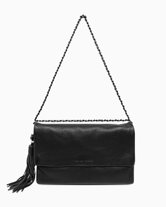 Bali Convertible Clutch - Black detail