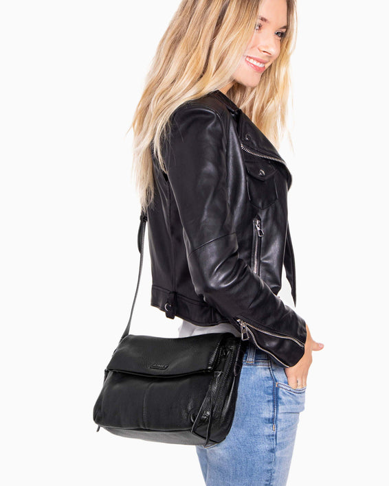 Bali Crossbody - Black on model