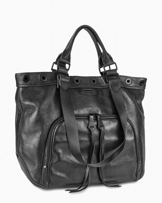 Day Dreamer Tote - Black Side angle