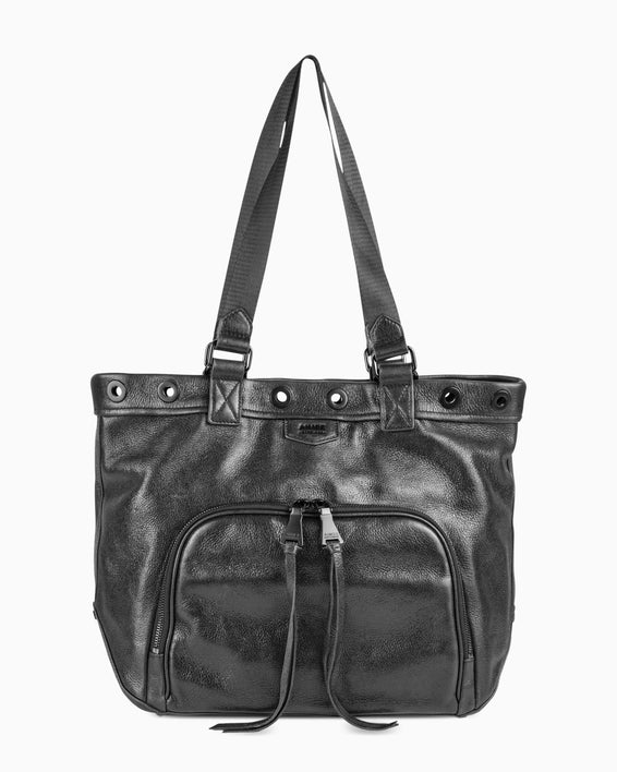 Day Dreamer Tote-  Black Detail