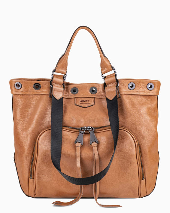 Day Dreamer Tote - Camel front