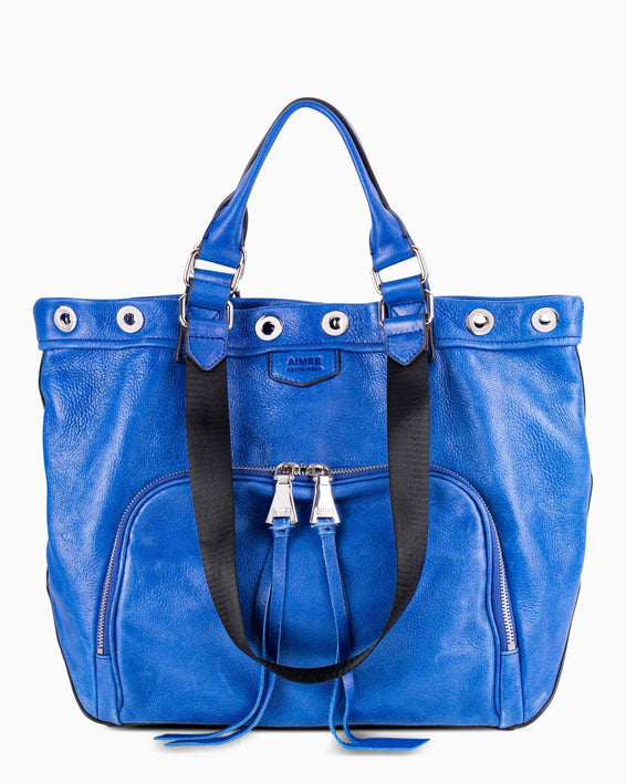 Day Dreamer Tote - Lapis Blue front