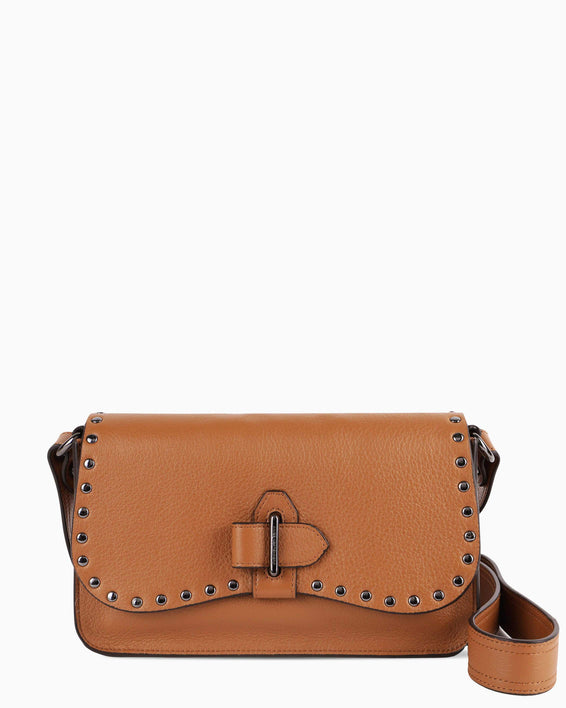 Happy hour crossbody - Camel front