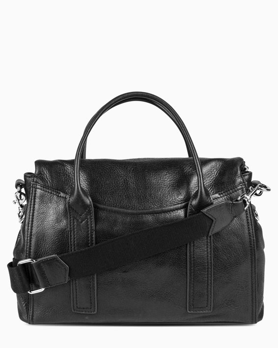 On my way satchel - Black back