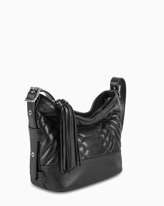 Scene Stealer bucket bag - Black side angle