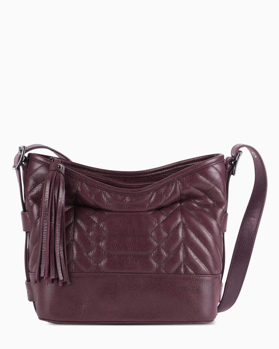 Scene Stealer bucket bag - Vino front