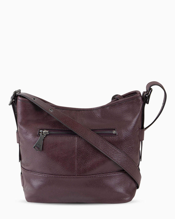 Scene Stealer bucket bag - Vino back